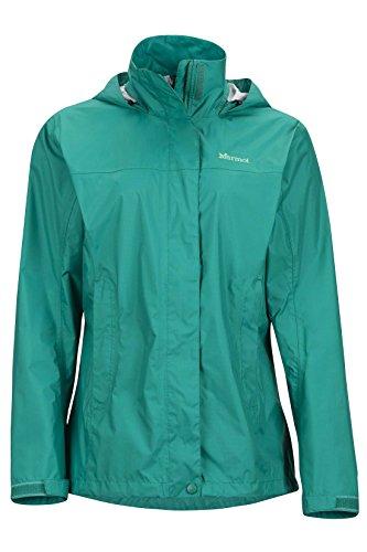 Marmot Women's Precip Jacket, Green Garnet, Medium