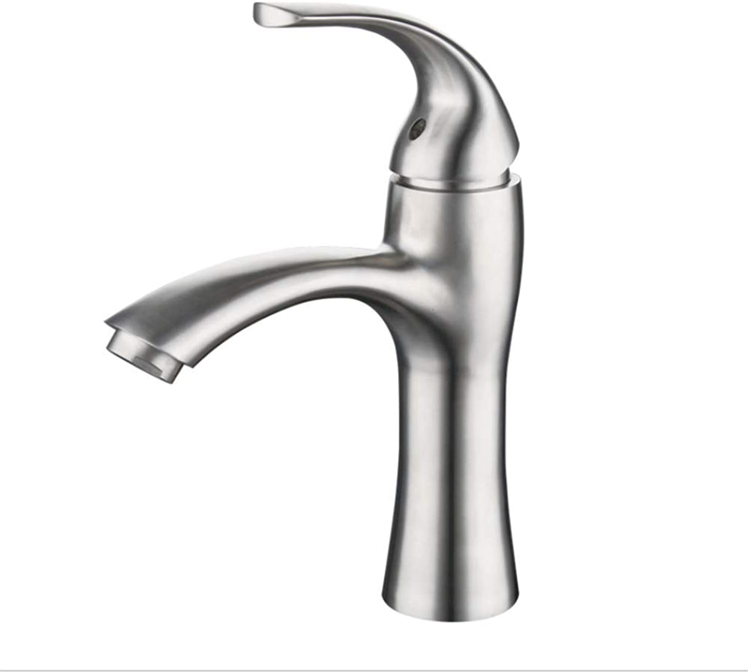 Basin Faucet304 Stainless Steel Wire Drawing Faucet Basin Lavatory