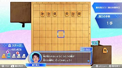 棋士・藤井聡太の将棋トレーニング-Switch