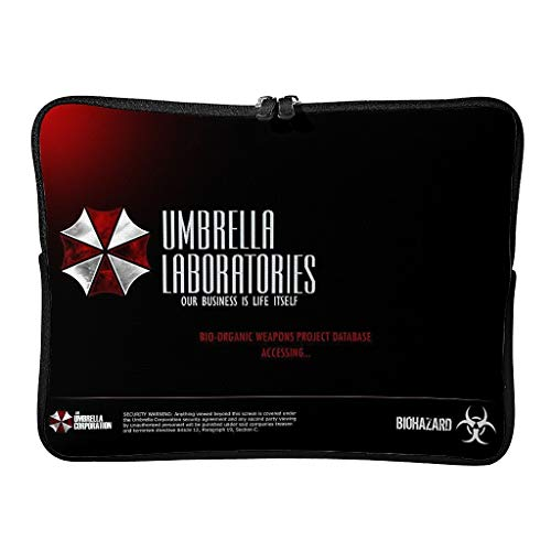Regular Corporation of Umbrella Laptop Bags Waterproof - Horror Scary Laptop Protector Adecuado para Viajes Profesionales, blanco (Blanco) - XJJ88-DNB-8