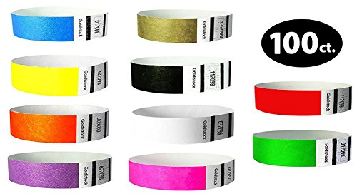 paper wristbands variety pack - 9