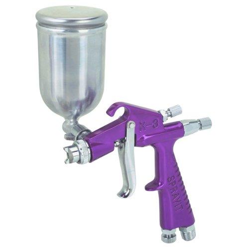 Central Pneumatic Adjustable Mini Detail Spray Gun