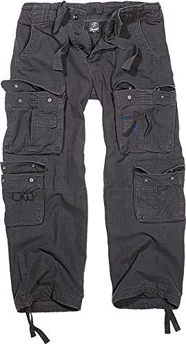 Brandit Pure Vintage Pantaloni, Nero, 52 (Taglia Produttore: Large) Uomo