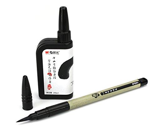Farang Calligrafia Pennello Penna con Inchiostro Ricaricabili per Il Giapponese/Chinese Calligraphy