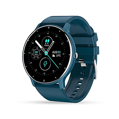 Smart Watch Fitness Tracker, Reloj de Deportes A Prueba de Agua Rastreador de Actividad Pulsera Inteligente con Ritmo CardíAco PresióN Arterial Monitor de SueñO PodóMetro Pulsera Inteligente Adecuada
