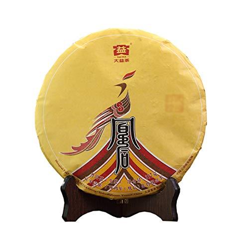 Chinese TAETEA Puerh Raw (Sheng) Dayi Classic Series Yunnan Puer Tea Cake – Original Black Pu'er Gongfu Tea for Weight Loss Health Tea (Huang Hou Gui Lai(Return of the queen), Aged 2017)