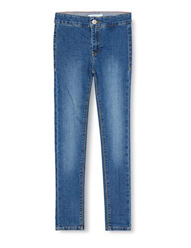 NAME IT Mädchen Nkfpolly Dnmtasis 2453 Hw Pant Jeans, Medium Blue Denim, 98