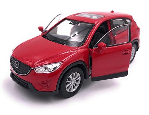 H-Customs Mazda CX 5 Modellauto Auto Lizenzprodukt 1:34-1:39 Rot