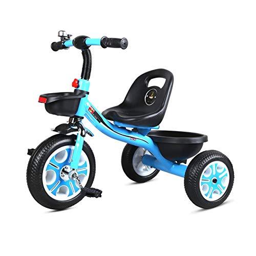 Dreiräder Kinderaußen Dreirad Retro Glocke Geeignet For All-Terrain Frei Von Aufblasbaren Warenkorb Korb Fahrrad-Reifen Und 1-5-8 Jahre Alten Kindern In Vier Farben Reiten Kann Als Geschenk Verwendet