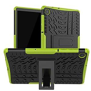 XITODA Lenovo Tab M10 FHD Plus, Armor Style Hybrid PC + TPU Funda protectora con soporte para Lenovo Tab M10 Plus TB-X606F TB-X606X 10.3
