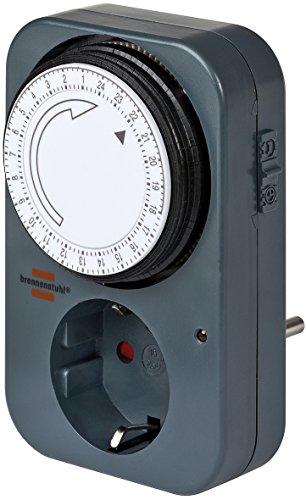 Brennenstuhl 1506450 Timer Meccanico, 230 V, Grigio, 1