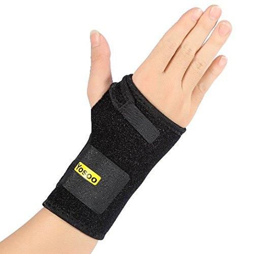Yosoo Handgelenkschiene, Handgelenkbandage, Handgelenkstütz, ideal für Sport, nur für recht Hand