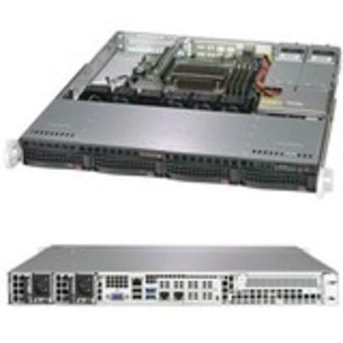 Server Barebone 1U singolo 1151 4 hot-swap 3.5' 400W Redun. SuperServer SYS-5019C-MR