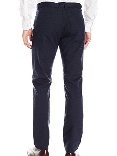 Calvin Klein Men's Slim Fit 5-Pocket Micro Pattern Pant, Astoria, 34W 34L