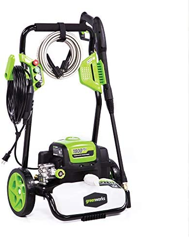 Greenworks GPW1800 Electric Pressure Washer 1800 PSI 13 Amp 1 1 GPM product image