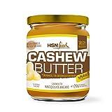 HSN Mantequilla de Anacardo Crema con Textura Cremosa y Suave | Cashew Butter Smooth | 100% Natural | Vegano, Sin Grasa de Palma, Sin Grasas Trans, Sin azúcar ni Sal añadidos, 250g