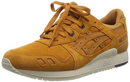 Asics Herren Gel-Lyte Iii Laufschuhe, Gold (Honey Ginger/Honey Ginger), 41.5 EU