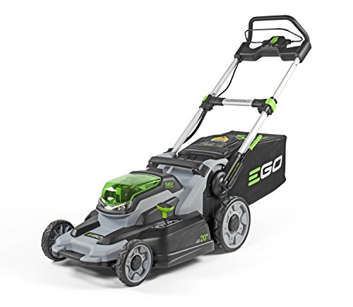 EGO Power+ LM2000-S 20-Inch 56-Volt Lithium-Ion Cordless Walk Behind Lawn Mower with 5.0Ah Battery and Charger Kit