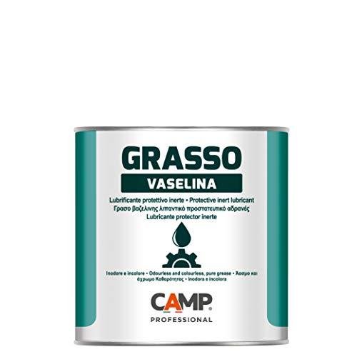 Camp GRASSO VASELINA, Grasso di vaselina tecnica, Purissimo, Incolore e inodore, Lubrifica e protegge, 1 kg