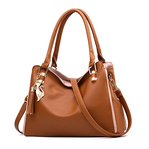 BeniNew women's bag simple fashion women's bag Messenger bag shoulder bag handbag-Khaki