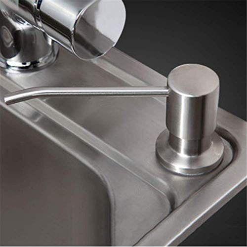 LKU 300 ml aanrecht wasmiddel shampoo zeep vloeibare dispenser, 1