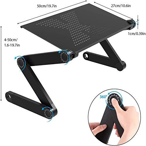 Laptopständer: Demontierbar mit Belüftung, Tragbarer Notebook Ständer Kompatibel mit Laptop (10 inch~15.9 inch) MacBook Pro/Air, HP, Dell, Lenovo, Samsung, Acer, Huawei MateBook laptop stand(type2)