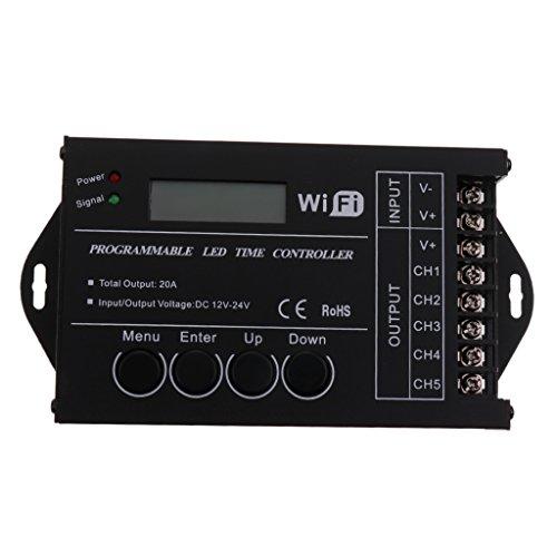 Sharplace regulador del LED Complimentos Controlador de Tiempo Programable WiFi TC421