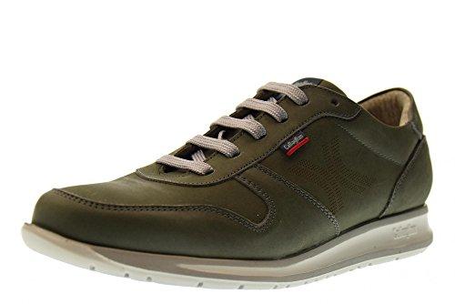 Callaghan Zapatos de los Hombres Zapatillas de Deporte Bajas 88411 Green Talla 41 Green