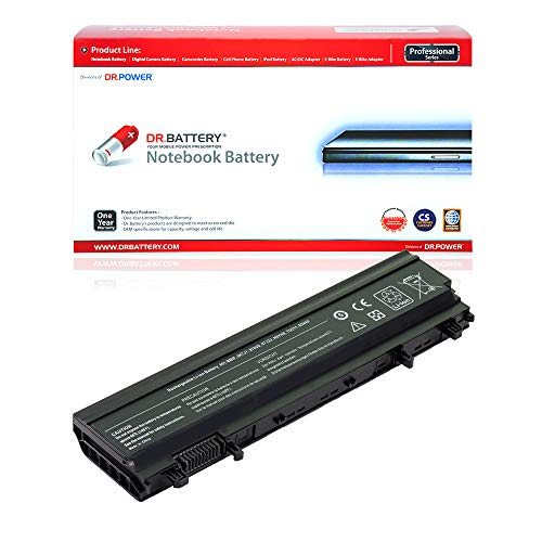 Dr. Battery Laptop Battery for Dell Latitude E5440 E5540 N5YH9 VV0NF VVONF VJXMC 0M7T5F 0K8HC 1N9C0 7W6K0 F49WX NVWGM CXF66 WGCW6 [11.1V/4400mAh/49Wh]