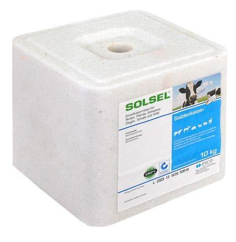 Solsel Salzleckstein Vorratspack 3x10kg