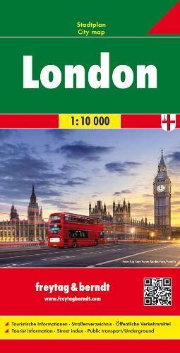 London, Stadtplan 1:10.000: Stadskaart 1:10 000 (freytag & berndt Stadtpläne)