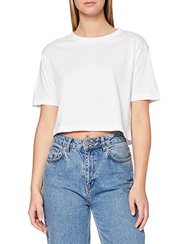 Urban Classics Damen Ladies Short Oversized Tee Maglietta, Bianco, XS Donna