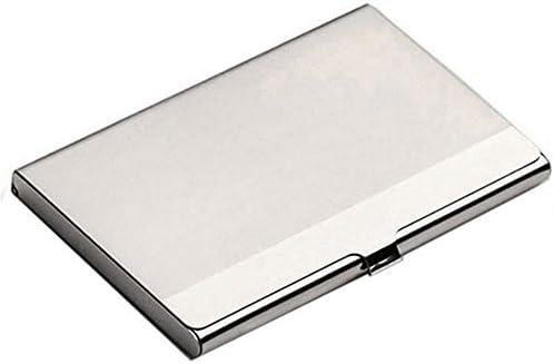 Waterproof Pocket Business Card Holder Aluminum Business Card Case Credit Card Holder Cover product image
