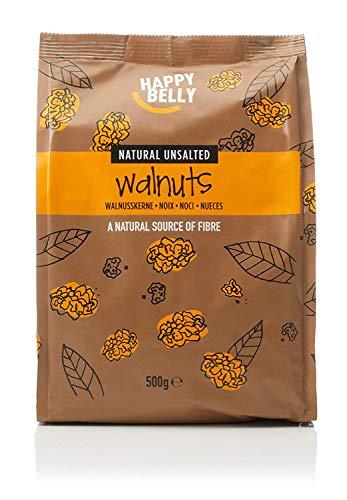 Marca Amazon - Happy Belly Nueces mondadas, 500 g