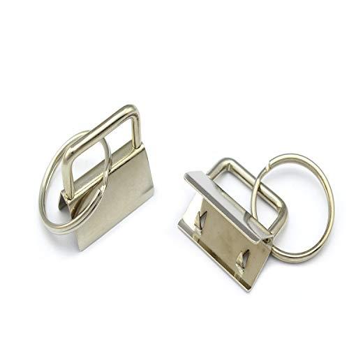 50 Schlüsselband Rohlinge 25mm Schlüsselanhänger Rohling Lanyard Lanyards