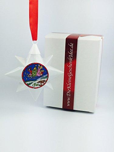 Hutschenreuther Porzellan Weihnachtsstern 1994 **Erstausgabe** in neutraler Geschenkverpackung NEU 1.Wahl