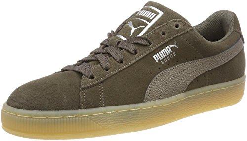PUMA Damen Suede Classic Bubble Sneaker, Braun (Bungee Cord), 39 EU
