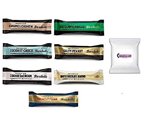 Barebells Protein Bar - 12 x 55g - (Mix-Box) 7 Sorten + 1 Produktprobe