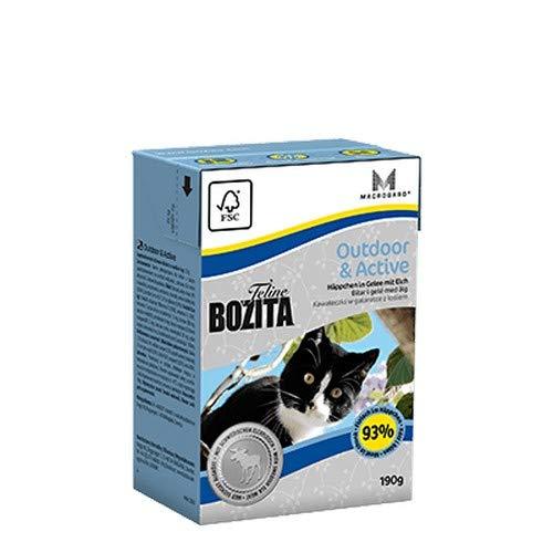 Bozita Häppchen in Gelee - Outdoor&Active, 190 g