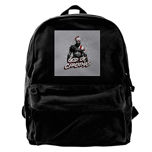 maichengxuan Canvas Backpack of War of Christmas Rucksack Gym Hiking Laptop Shoulder Bag Daypack for Men Women