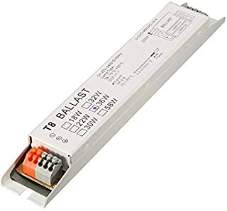 ILS - AC 220-240V 2x36W Wide Voltage T8 Electronic Ballast Fluorescent Lamp Balla
