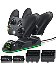 Controller Charger Compatible with Xbox Series & One S/X/Elite Controller, OIVO Xbox One Controller Charging Station with 2 Packs Rechargeable Battery