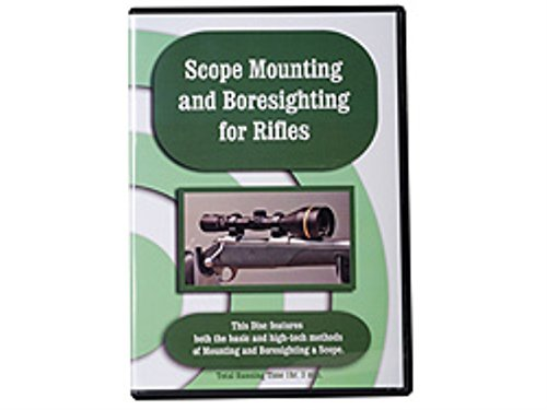 Scope Mounting and Boresighting for Rifles
