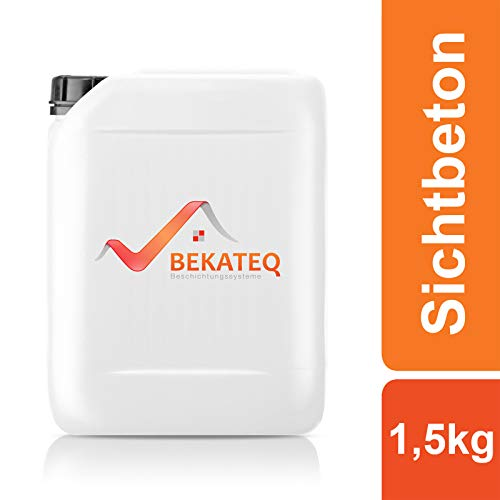 BEKATEQ Betonversiegelung BK-1000EP Sichtbeton 2K Epoxidharz seidenglänzend -1,5kg