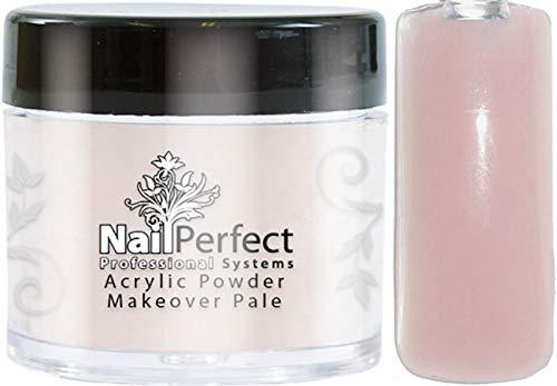++ NIEUW++ NailPerfect Premium acryl poeder 25g: makeover-pale (afdekkend).
