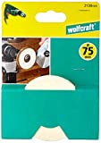 Wolfcraft 2130000 - Disco de fieltro, diámetro 10 mm ø 75 x 10 mm