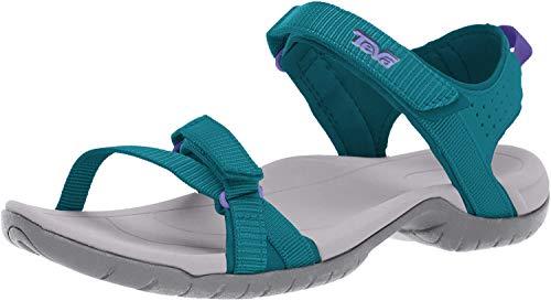 Teva Women's W Verra Sandal, Deep Teal, 5.5 M US