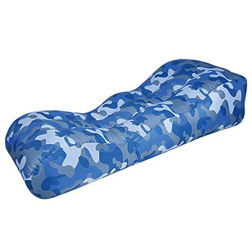 JL Jian Lin Amphibious Strand Air Cushion bewegliche Luft Schlafsofa Büro Mittagspause Einzel-Luftpolster Camping Air Bett Erwachsene Einzel-Luft-Bett aufblasbare matratze