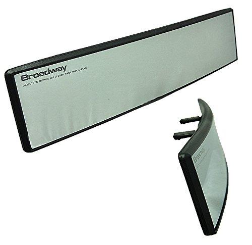 Broadway JDM BW-745 270mm Convex Rearview Mirror White Tint
