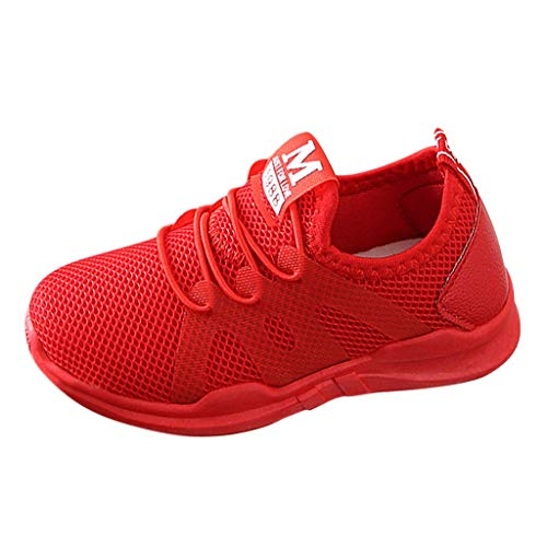 WEXCV Unisex Sneaker Baby Mädchen Jungen Lauflernschuhe Weben Schuhe Mesh Kinder Weiche Sohle Outdoor Licht Herbst Winter Sportschuhe